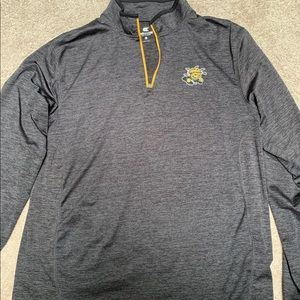 Men's Witchita State 1/4 Zip Pullover Size Large